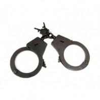 Полицейские наручники БРС -2 (вороненые, 2 ключа)